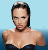 Angelina Jolie by GraphicDream