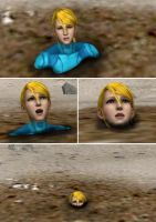 Samus vs Quicksand 2 by alyxcaptor