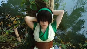 Toph Beifong ~ Avatar - The Last Airbender by Grimassi