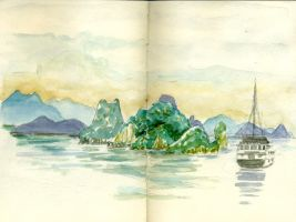 Halong Bay by crisurdiales