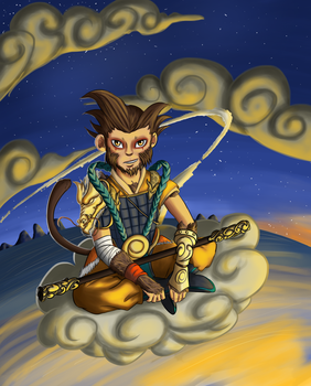 Sun wukong by H-drawings