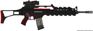 G40CE A.A.R. Assault Rifle by Lord-DracoDraconis