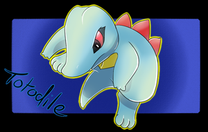 Totodile by Entin