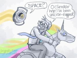 Unicron Space Nyan Attack by wacky-w