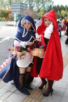 Red Riding Hood Ciel and Alois by magical-machete