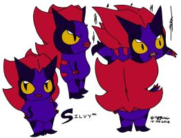 Silvy Character Sheet by trinityweiss