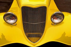 Yellow Hot Rod by robgbob