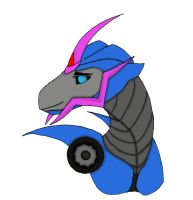 TFP Arcee Dragon by randomcatgirl