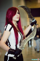 Red Card Katarina Cosplay - League of Legends by Dragunova-Cosplay