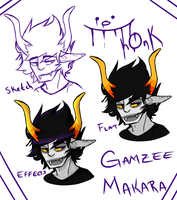 Gamzee Makara for your Gamzee needs -Process thing by danielanimales1