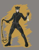 Anne Hathaway Catwoman 2 by JimmyChang83