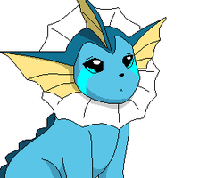 Sad Vaporeon by Funfunland