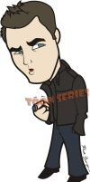 Stefan - The Vampire Diaries by toonseries