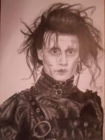 Edward scissorhands by Chooz