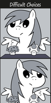 Difficult choices by JoeMasterPencil