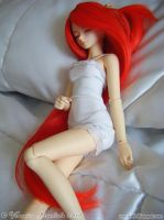 Katty in Red VIII by Dynamene-Dolls