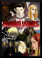 Blood Wars: Werewolf Rising (cover) by MlleRevenant
