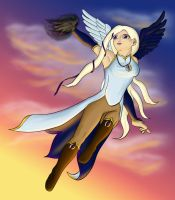 Colour- Kestrel casting by kittygriffin