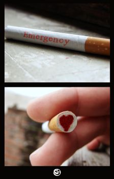 For Emergency Only by mizho