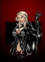 Emma Frost by FlashColorist