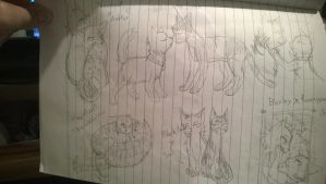 all dem gay cats by baimon2000