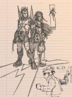 Work Sketch Madness by D-Gee