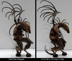 Devil Claw Gargoyle by ART-fromthe-HEART