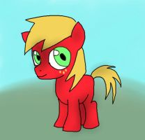 Little Macintosh by Melancholy-Meloy