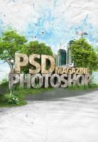 .psd Photoshop Magazine by aiiven