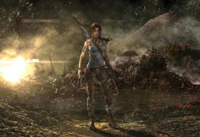 Lara Croft Tom Raider Reborn Contest by creasitedesign