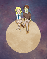 Luna and Lupin by DaSporkQueen