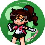 Sailor Jupiter Button by CrazyForJapan123