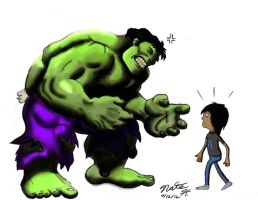 Crossing The Hulk by HayNateHaywood