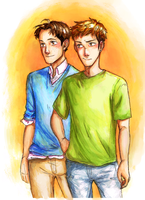 Jeanmarco Collab!!! by waveoftheocean