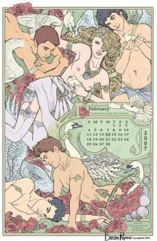 Aphrodite and the Erotes by Hullabaloo2