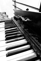 The Abandoned Piano IV. by Alonir