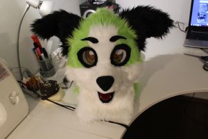 Soon for sale fursuit head by Osanakaan