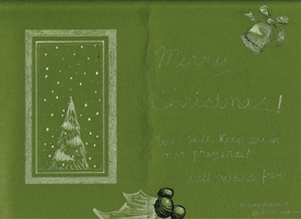 Holiday Card Project 2012- Inside by SecretagentG