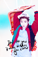 Kyungsoo iphone wallpaper by MiAmoure