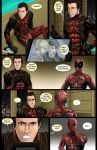 Spideypool Comic 'Never Say Never' Page 9 by jijikero