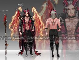 Auction [CLOSED] - Prince of Hades by LadyMartina