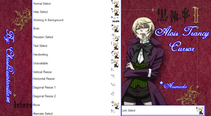 Alois Trancy Cursor by ChrissQuintanilla