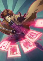 X-men: Gambit by nururuateka