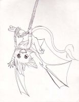 Swing from my rope - ink by ashkey