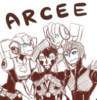 thank you Arcee by limegreenmuse