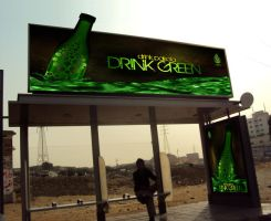 Pakola Relaunch - Bus Stop by imrantshah