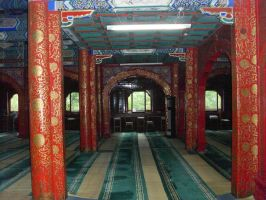 The Niujie Mosque - Worship Hall 5 by Nayzak