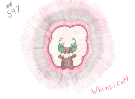 Whimsicott by MonsterRage840