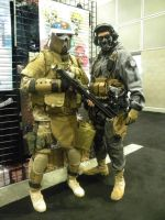 Ghost And Desert Storm Trooper by Ghost141