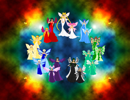 Princesses and Children by ParamourPhoenix